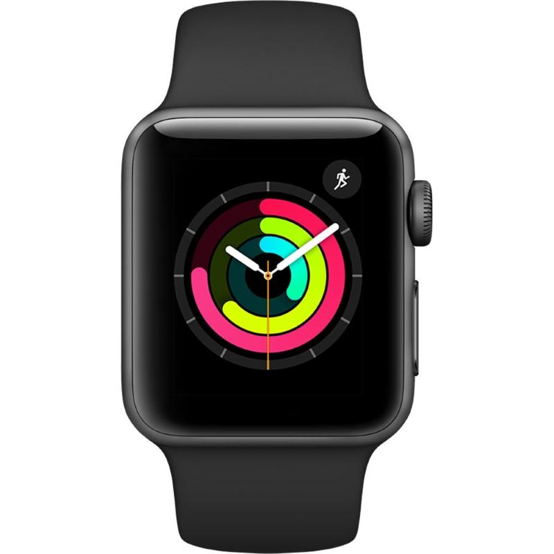 Smart часы Apple Watch Series 3 38mm Aluminium Case Space Gray with Black Sport Band