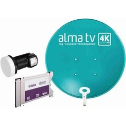 Комплект для ТВ Alma TV CAM-модуль, Конвертер и Антенна (60 см)