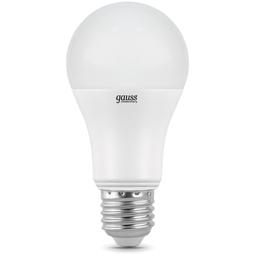 Лампа Gauss Elementary A60 20W E27 6500K 1/10/40