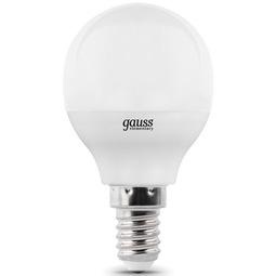 Лампа Gauss Elementary Globe 6W E14 2700K 1/10/50