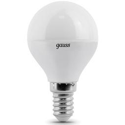 Лампа Gauss Black Globe E14 6.5W 4100K 1/10/50