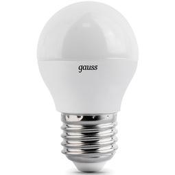 Лампа Gauss Globe E27 6.5W 4100K 1/10/50
