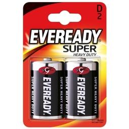 Элемент питания Energizer R20-D Eveready SHD 2