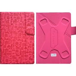 Чехол для планшета Portcase TBL-570PN Pink