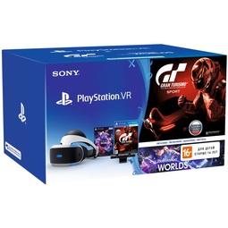 Шлем виртуальной реальности Sony PlayStation VR CUH-ZVR1/Камера V2/VRW/GTSport