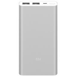 Внешний аккумулятор Xiaomi Mi Power Bank 2S 10000mAh Silver