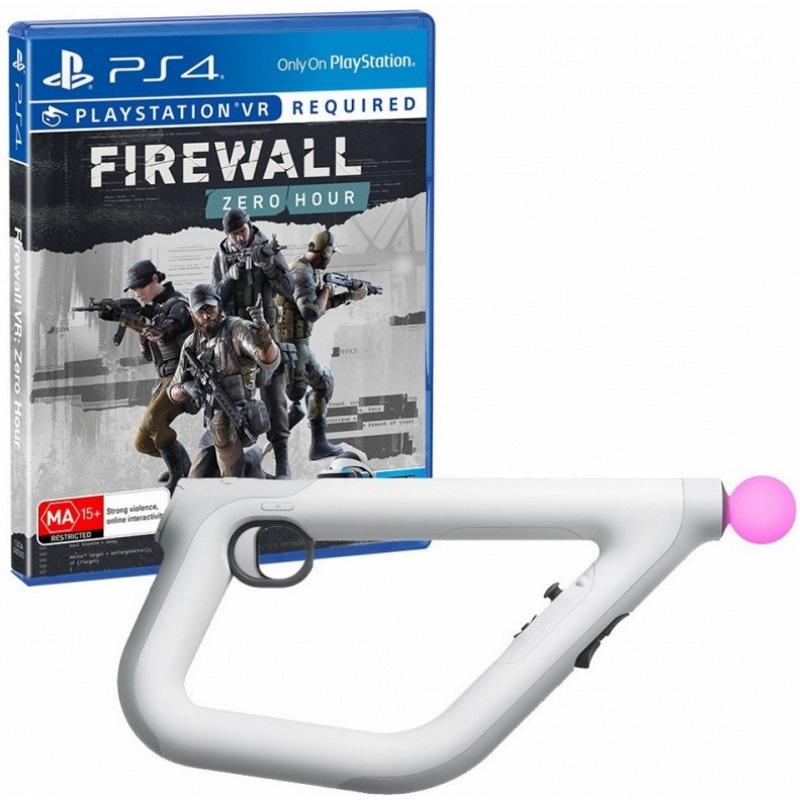 Аксессуар для игровой приставки Контроллер прицеливания Sony CECHYA-ZRA2 PS VR + Игра Firewall: Zero Hour