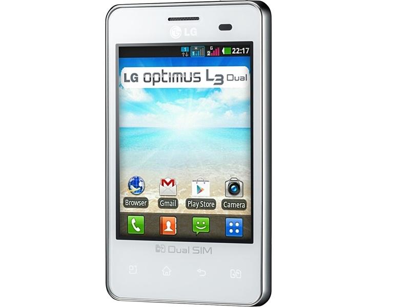 Смартфон LG Optimus E405 (ACISWH)