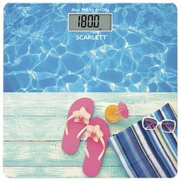 Напольные весы Scarlett SC-BS33E058 (Бассейн)