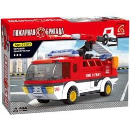 Конструктор Ausini Пожарная бригада/Мобильный отряд 21503