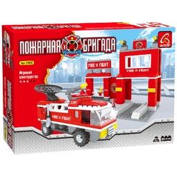 Конструктор Ausin Пожарная бригада/Пожарная часть 21602
