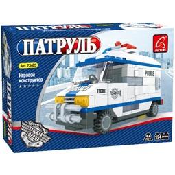 Конструктор Ausini Патруль/Большой полицейский фургон 23405
