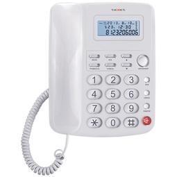 Проводной телефон Texet TX-250 White