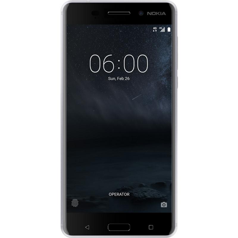 Смартфон Nokia 6 Silver
