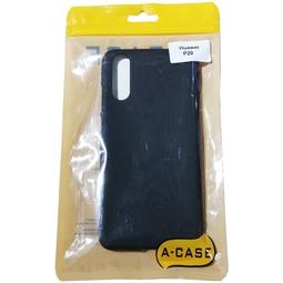 Чехол для смартфона A-case для Huawei P20 Black