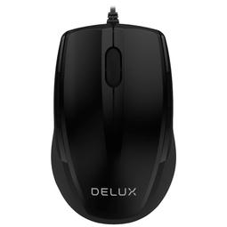 Мышь Delux DLM-321OUB Black