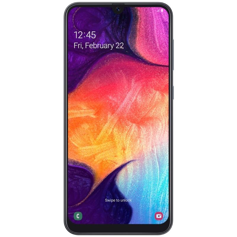 Смартфон Samsung Galaxy A50 64Gb Black