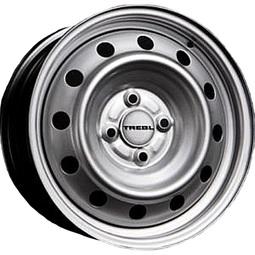 Автомобильный диск Trebl 8114T Silver 4х100 R15х6 СВ54.1 ЕТ48
