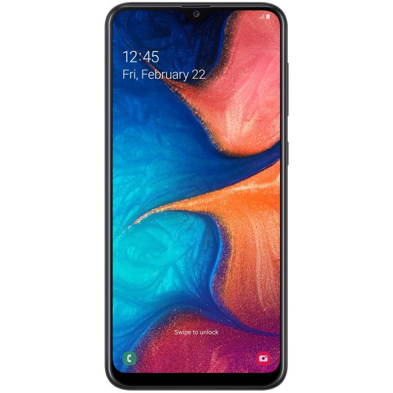 Смартфон Samasung Galaxy A20 Black