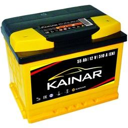 Автомобильный аккумулятор Kainar 6СТ-55 АПЗ о.п