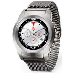 Smart часы Mykronoz Zetime Elite Regular Brushed Silver Milanese