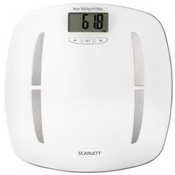 Напольные весы Scarlett SC-BS33ED80 White