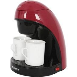 Кофеварка Saturn ST-CM7050 Red