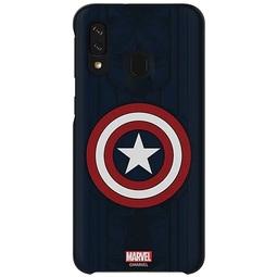 Чехол для смартфона Samsung Smart Cover Marvel (GP-FGA405HIBLW) Capitan America  Для Samsung Galaxy A40