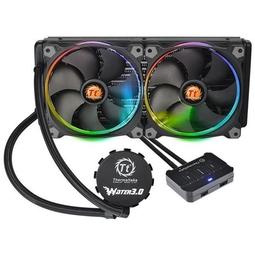 Устройство охлаждения Thermaltake Water 3.0 Riing RGB 280 (CL-W138-PL14SW-A)