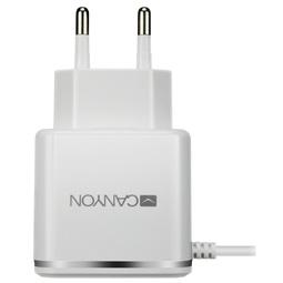Зарядное устройство Canyon CNE-CHA043WS White