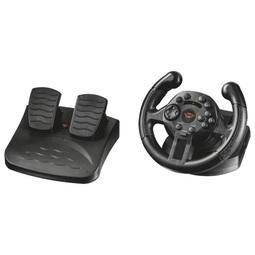 Руль и педали Trust GXT 570 Compact Black