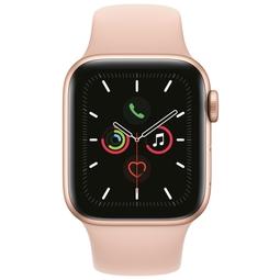 Smart часы Apple Watch Series 5 40mm Gold Aluminium Case with Pink Sand Sport Band