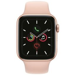 Smart часы Apple Watch Series 5 44mm Gold Aluminium Case with Pink Sand Sport Band