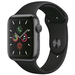 Smart часы Apple Watch Series 5 44mm Space Gray Aluminium Case with Black Sport Band