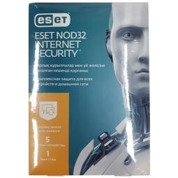 Антивирус Eset NOD32-EIS-NS(BOX)-1-5 KZ Internet Security