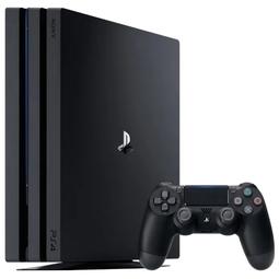 Игровая приставка Sony Playstation 4 Pro (CUH-7208B) Black