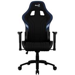 Компьютерное кресло Aerocool Aero 1 Alpha Black-Blue