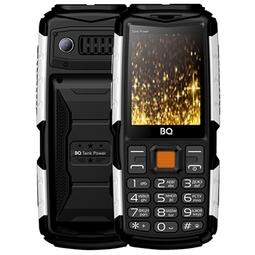 Мобильный телефон BQ 2430 Tank Power Black/Silver