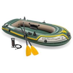 Надувная лодка Intex 68347NP Seahawk 2 Set