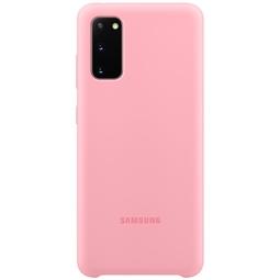 Чехол для смартфона Samsung Silicone Cover EF-PG980TPEGRU Pink Для Samsung Galaxy S20