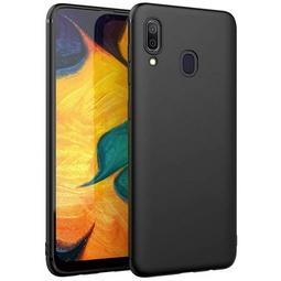 Чехол для смартфона Borasco Mate Для Samsung Galaxy A20/A30 Черный