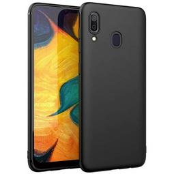 Чехол для смартфона Borasco Mate Для Samsung Galaxy A40 Черный