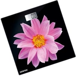 Напольные весы Centek CT-2416 Розовый Цветок