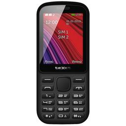 Мобильный телефон Texet TM-208 Black/Red