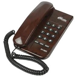 Проводной телефон Ritmix RT-320 Coffee