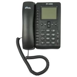 Проводной телефон Ritmix RT-490 Black