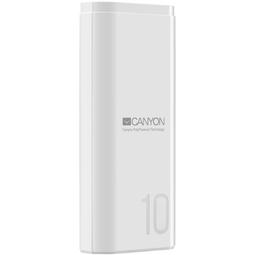 Внешний аккумулятор Canyon CNE-CPB010W 10000mAh White