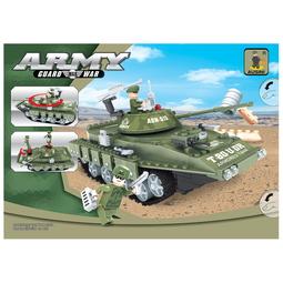 Конструктор Ausini 22502 Армия Средний танк T-80UD