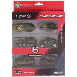 Набор игрушек X-Game XGCM6F Военные