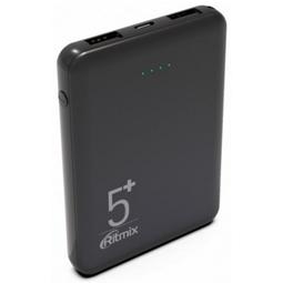 Внешний аккумулятор Ritmix RPB-5000 5000mAh Black